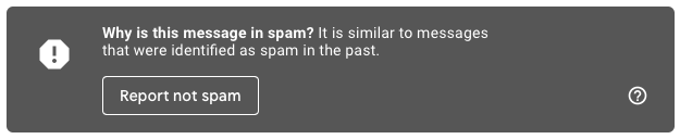 spam in gmail