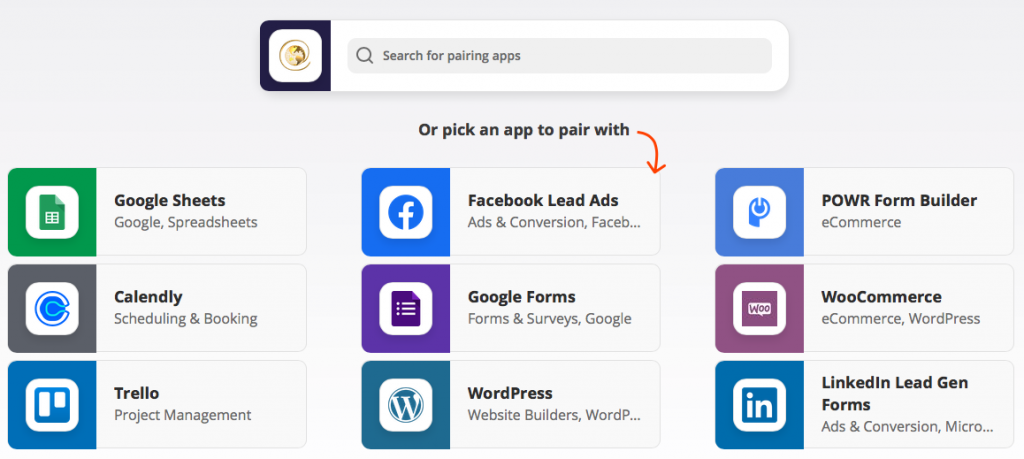 trafficwave integrates with zapier